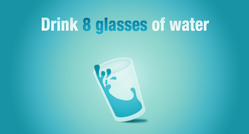 Do Not Have to Drink 8 Glasses of Water a Day